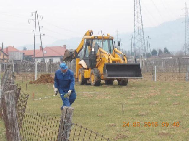zakolicenje in kopanje lukenj